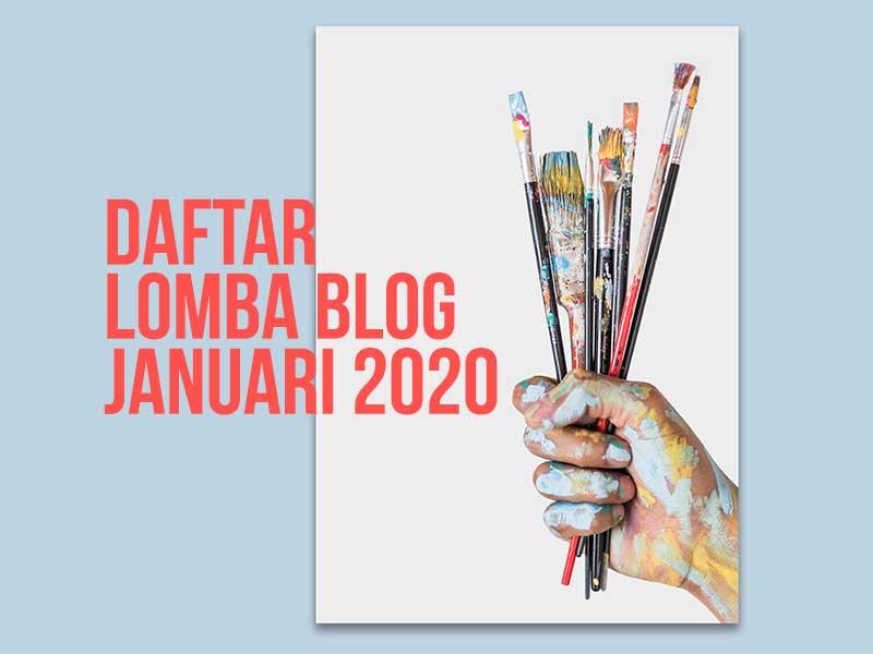 Menang Lomba Blog Januari 2020 Sediakan Dana Resolusi Tahun Baru