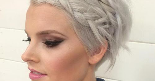 Various Prom Hairstyles For Short Hair