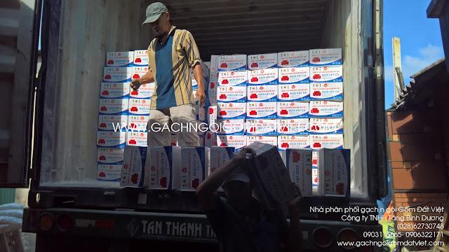 Container ngói vảy cá to Gốm Đất Việt