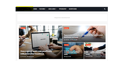 Magify Blogger Template