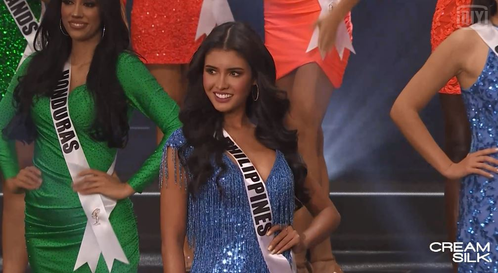 Miss Philippines Rabiya Mateo advances to the swimsuit competition