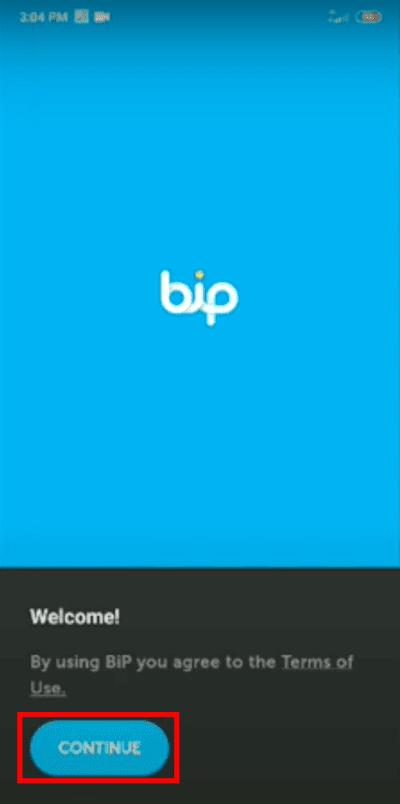 Cara daftar bip messenger