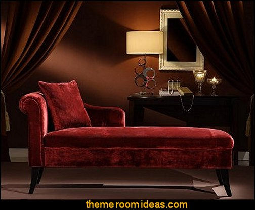 Chaise lounge  boudoir bedrooms-decorating boudoir style rooms victorian boudoir