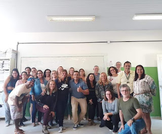 Hudson Cunha ministra palestra beneficente em escola pública do litoral paulista