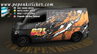 Sticker mobil grandmax KTM