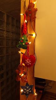 Karácsonyi filcdíszek házilag