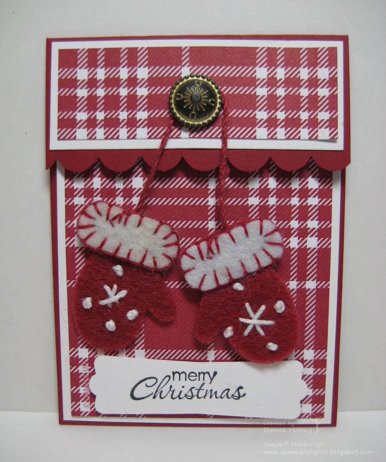 Danee's Stampin' Delights: Kim's Christmas Gift Card Holder