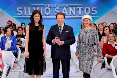 Chris, Silvio e Daniela (Crédito: Lourival Ribeiro/SBT)