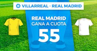 Paston Megacuota Villarreal vs Real Madrid 1 septiembre 2019