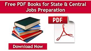 Free PDF Books for Govt Jobs Preparation