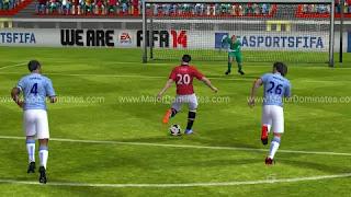Gameplay of Fifa 14 Unlocked Apk