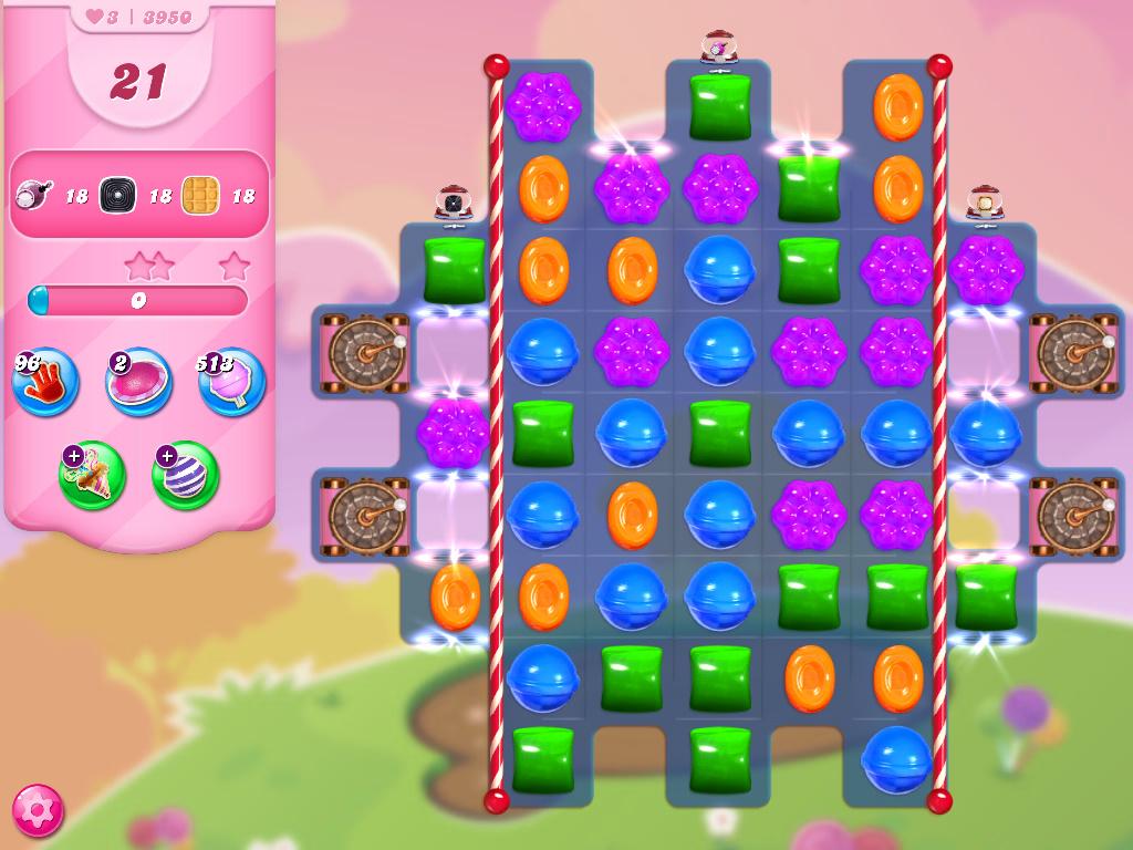 Candy Crush Saga level 3950