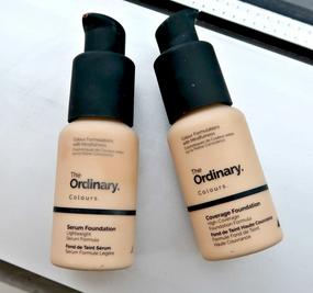 The ordinary serum foundation makeup skincare