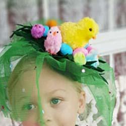 Chicken egg Easter Hat parade DIY tutorial