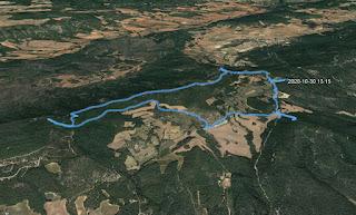 Recorregut: Carretera de la Pollina-Puig de les Agulles-Puig Castellar (El repte dels 100 cims)