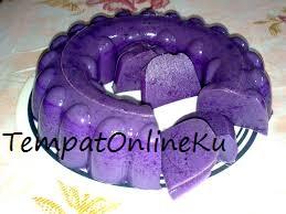 puding ubi ungu enak mantap