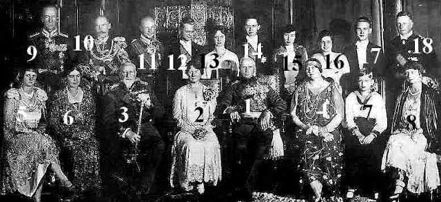 noces d'argent couple ducal Saxe-Cobourg et Gotha