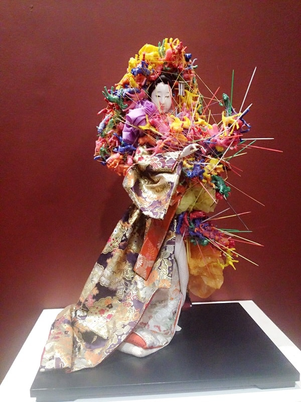 Junks and Geishas created by Filipino Artist Miguel Aquilizan