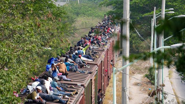 Medio millón de migrantes han pasado por México en los últimos seis meses