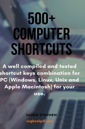 500 Computer Shortcuts PDF