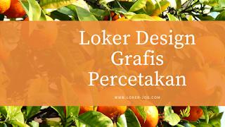 Loker Design Grafis Percetakan dan Bagian Umum di Multigrafindo