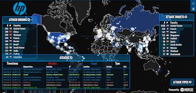 Cara Melihat Perang Cyber Di Dunia (LIVE)