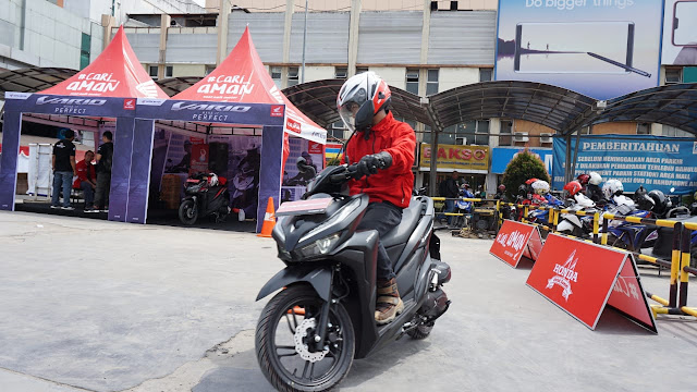 All New Honda Vario 150 & 125 Hadir di Palembang Square