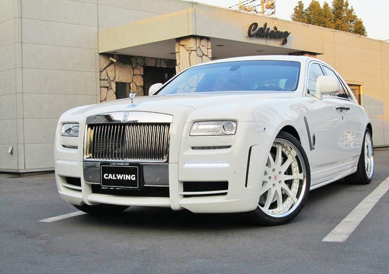 Calwing 213 Motoring Is A Luxury Car Dealer In An Specialized Aftermarket Kits Their Latest Project Based On Rolls Royce Ghost With Mansory