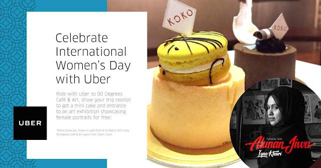 Uber Malaysia Promo Code International Women's Day Free Cake Kuantan