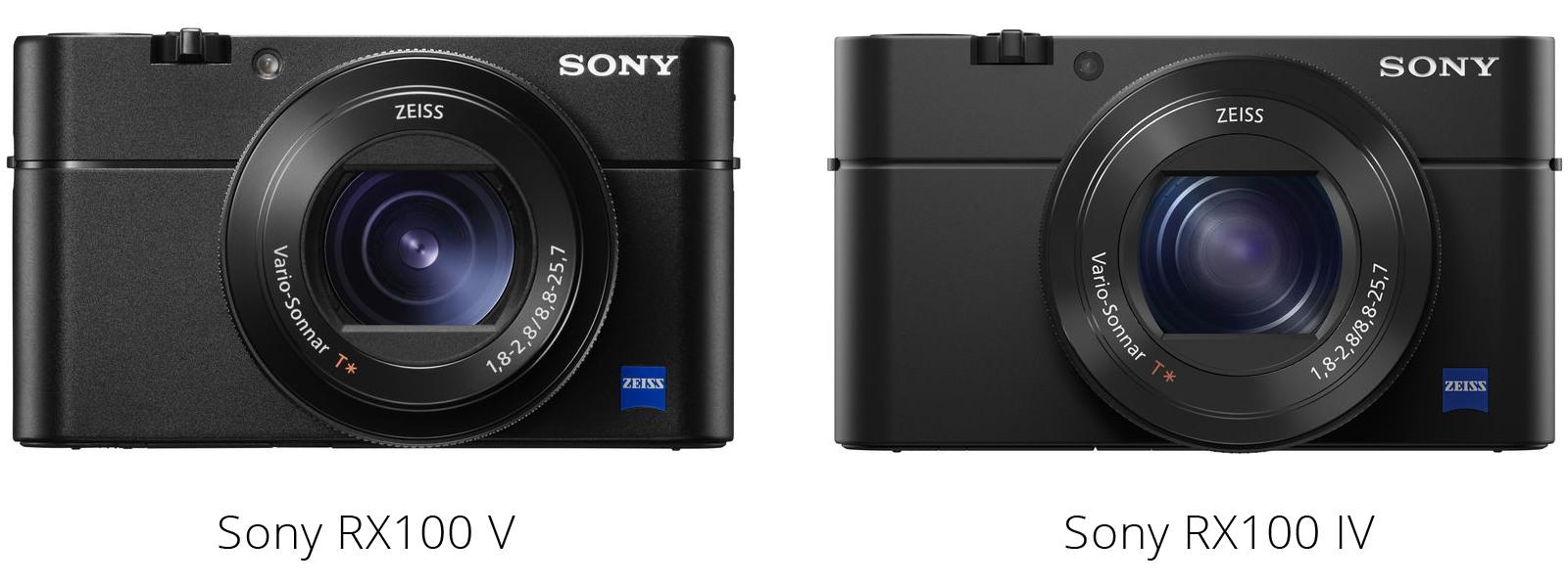Сравнение Sony RX100 V и Sony RX100 IV
