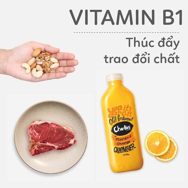 Hướng dẫn Mẹ Bầu bổ sung Vitamin B1 - Thúc đẩy trao đổi chất