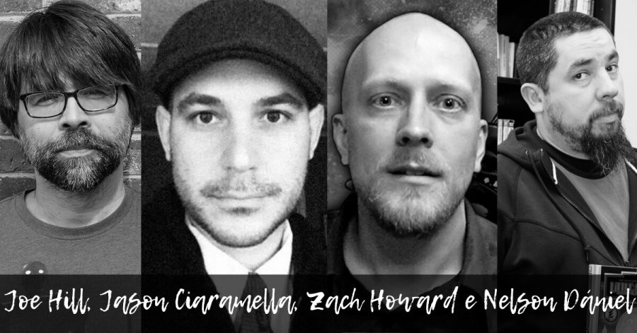 Joe Hill, Jason Ciaramella, Zach Howard e Nelson Dániel