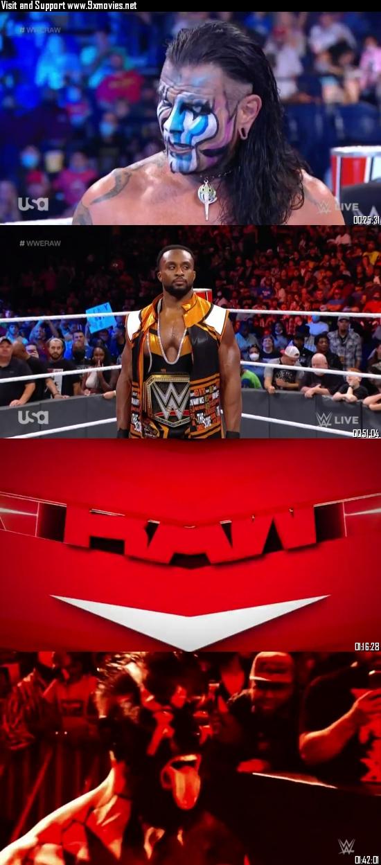 WWE Monday Night Raw 04 October 2021 HDTV 720p 480p [1GB 500MB]