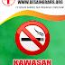 Desain Banner/Spanduk Larangan Merokok Rumah Sakit cdr