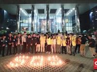 Masyarakat dan Mahasiswa Galang Kekuatan Dukung KPK, Terkait Surpres Jokowi  Revisi UU KPK