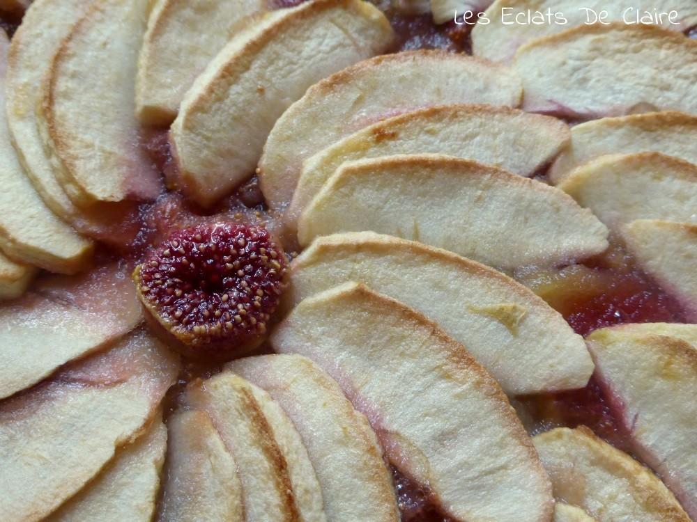 Claire dans tous ses clats tarte fleur d 39 automne - Quand cueillir les figues ...