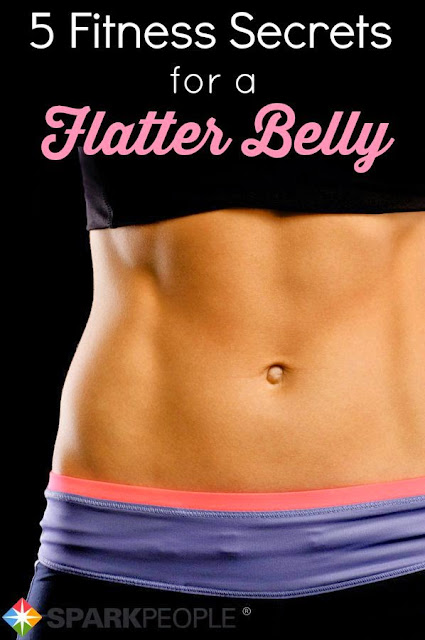5 fitness secrets for flatter belly