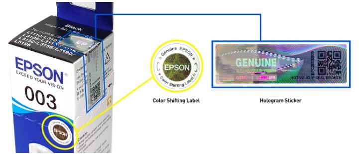 Epson Genuine Inks