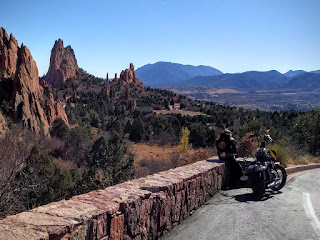 resting in the Garden of the Gods