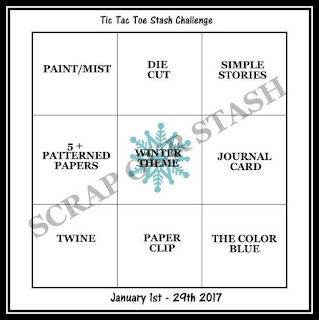 January 2017 Tic Tac Toe Stash Challenge
