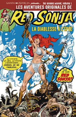 Les aventures originales de Red Sonja La diablesse à l'épée - Les années Marvel, Volume 1 éditions Graph Zeppelin