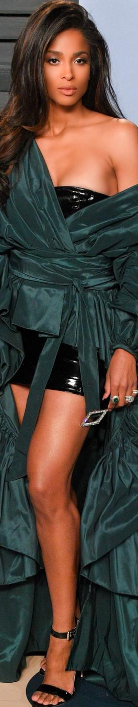 Ciara 2018 Vanity Fair Oscar Party