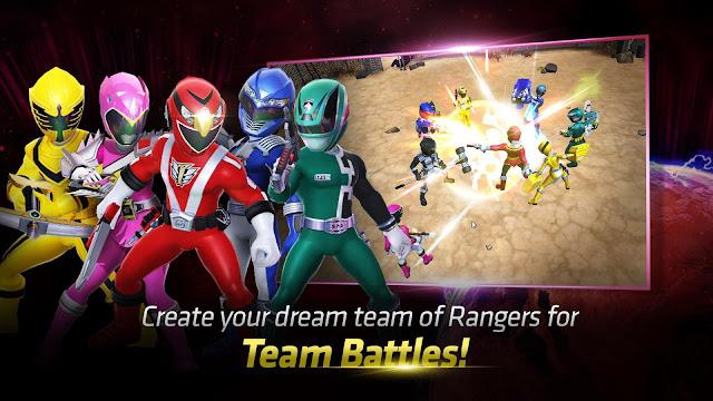 Power Rangers: All Stars Mod Apk