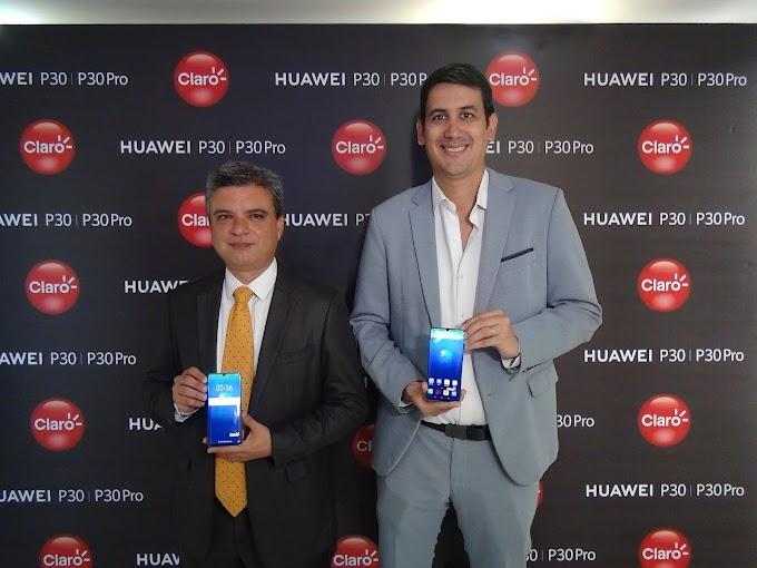 CLARO y HUAWEI presentan al HUAWEI P30 que redefine las reglas de la fotografía