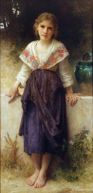 Адольф Вильям Бугро - Момент отдыха (1900)