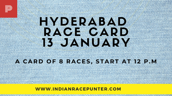 Hyderabad Race Card, free indian horse racing tips