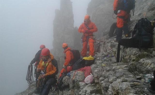 Ακόμα ένας νεκρός ορειβάτης στον Όλυμπο μέσα σε λίγα 24ωρα