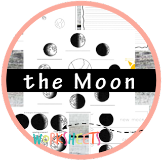 phases of the moon kindergarten worksheets