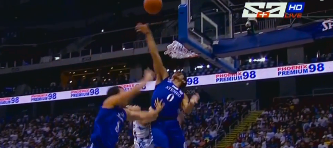 Thirdy Ravena Skies for the Big Denial on Terence Mustre (VIDEO)
