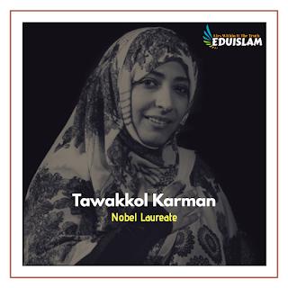 Tawakkol Karman, Nobel prize, Hijaab, Hijab